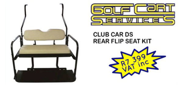 Club Car DS Rear Flip Seat Kit