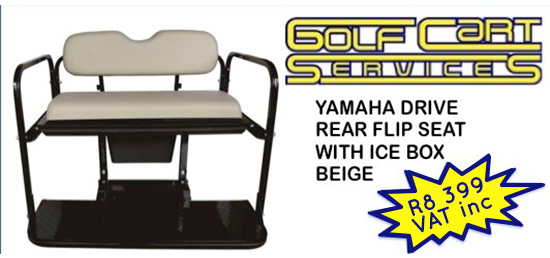 Yamaha Drive rear flip seat kit