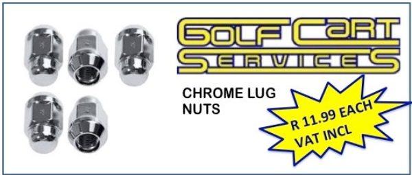 Chrome Lug Nuts